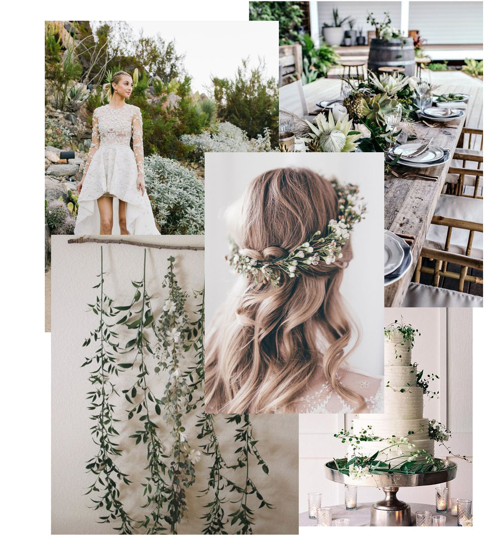 images via Weddbook, PopSugar, Pinterest