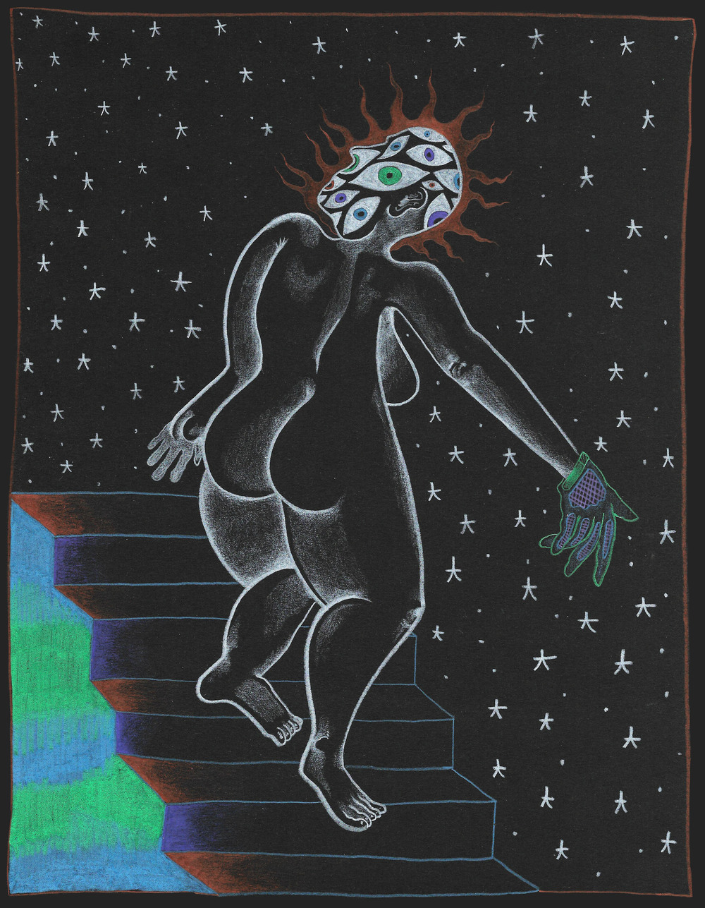 """Fear of Heights Goddess"""