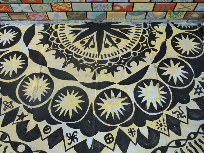 Detail of ground mandala