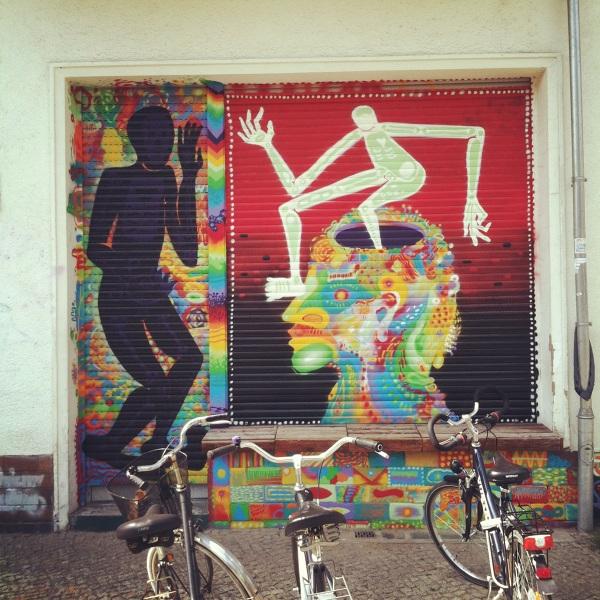 Mural Tête Gallery - Schönhauser Allee 161A Berlin 10435