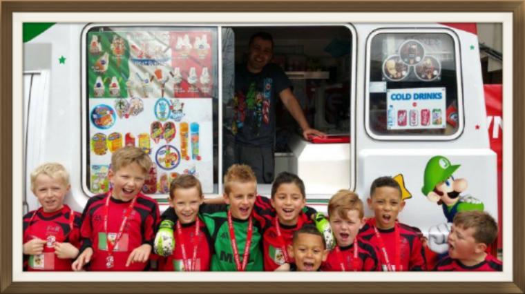Swindon Town FC Kids six aside Football Tournament