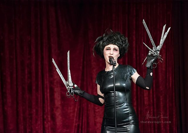 Seattle! Tonight is the last night to catch Cinephilia at @hales_ales in Fremont! Come see drag, burlesque, aerial, live music and more at the funnest cult film variety show! #misfitcabaret #seattlepulse #seattlelife #seattletheatre #seattleart #edwardscissorhands #memorialdayweekend photo by @marcia.davis