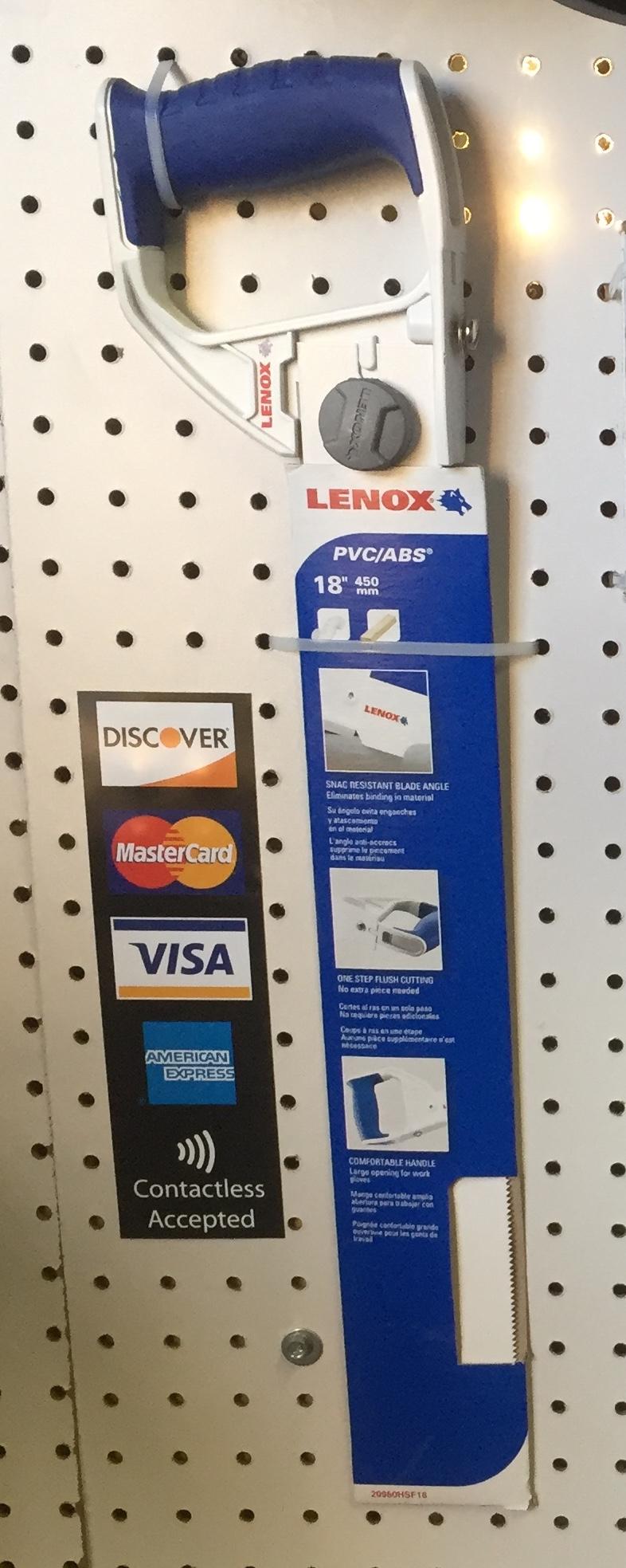 Lenox® PVC Hand Saws