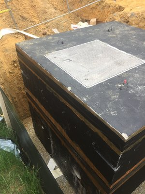 Water Meter Vaults — Flemington Precast & Supply