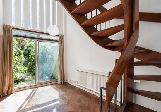 Double height interior, Southwood Lane, Highgate