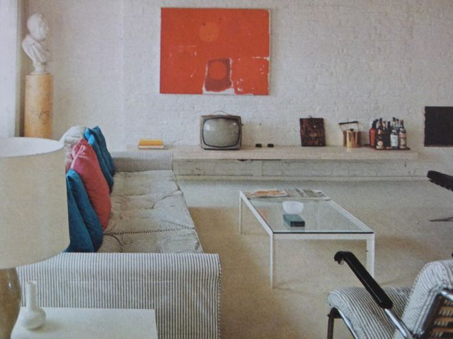 The home of Fello Atkinson, featured in English Style, 1967