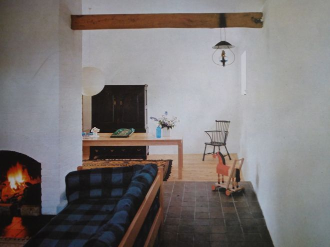 Terrance Conran's country house featured in English Style, 1967