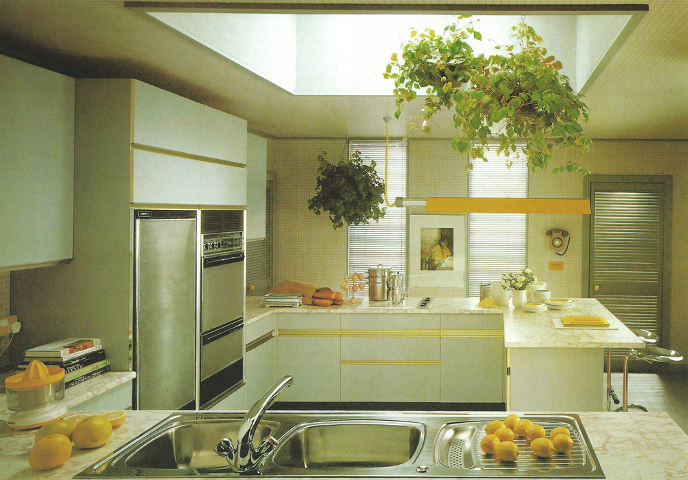 A Mary Gilliatt inspired kitchen, 1981