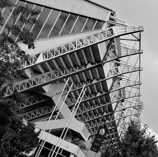 The Pool, Melbourne 1956 Olympics, roof detail