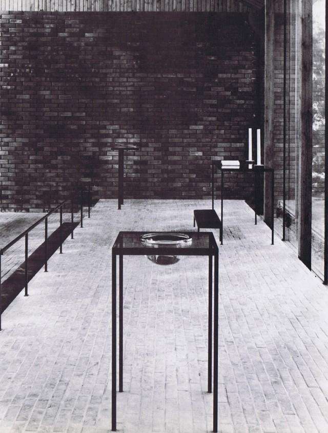 Ontaniemi Chapel interior