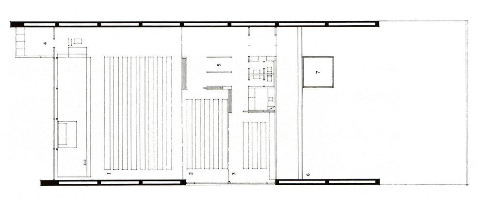 Otaniemi Chapel plan