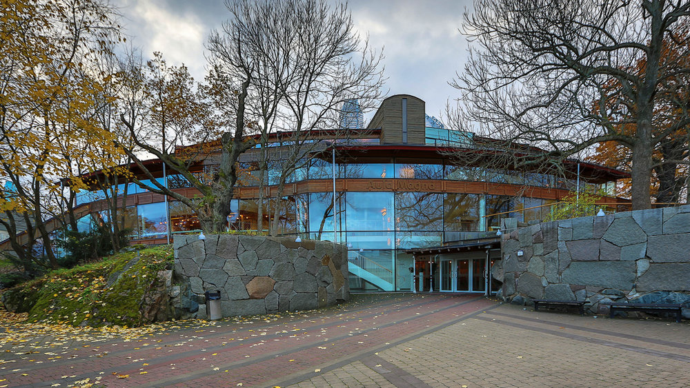 Aula Magna, Frescati University, Stockholm
