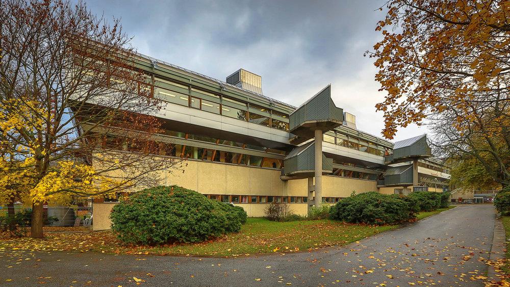 Library, Frescati University, Stockholm