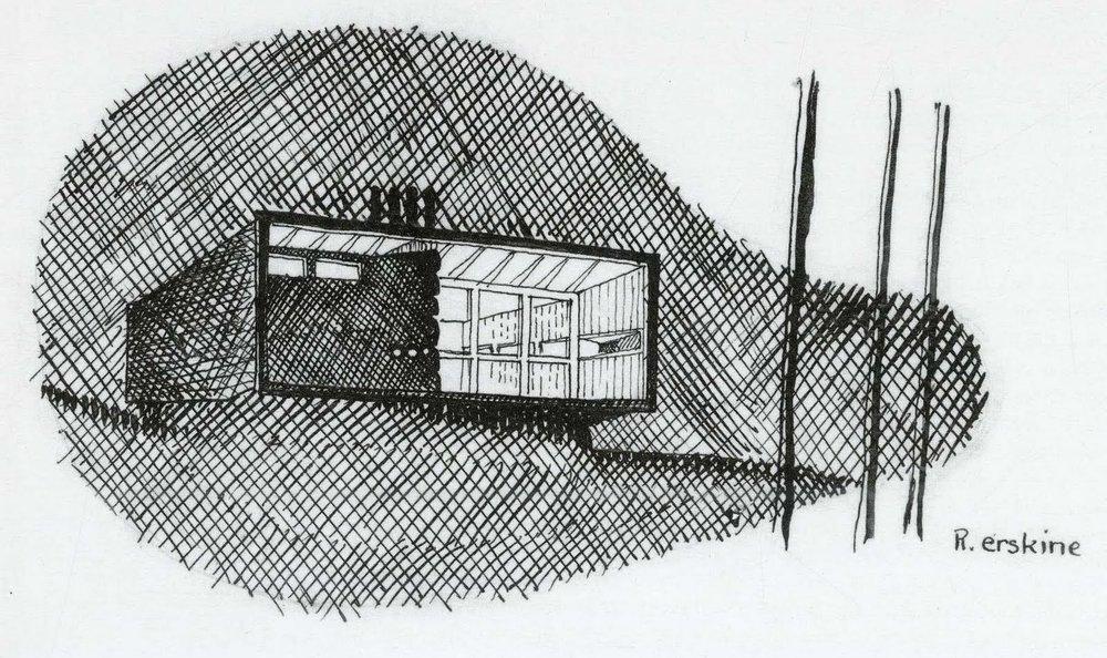 Early sketch, the Box, Lissma