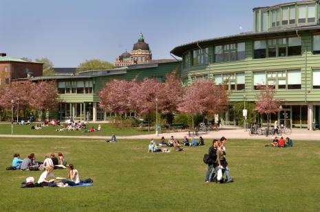 Campus, Frescati University, Stockholm