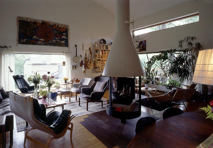 Interior, Ralph Erskine's own home