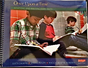 Adorable boys writing fairy tales? Check.