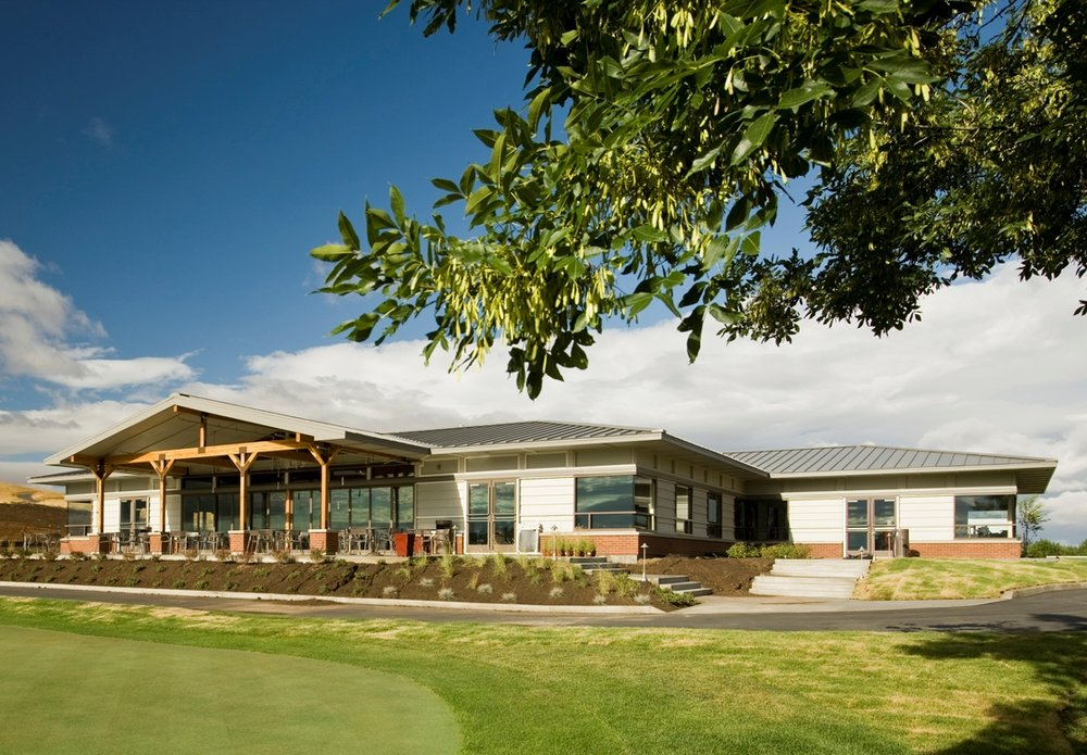 Palouse Ridge Golf Course Clubhouse