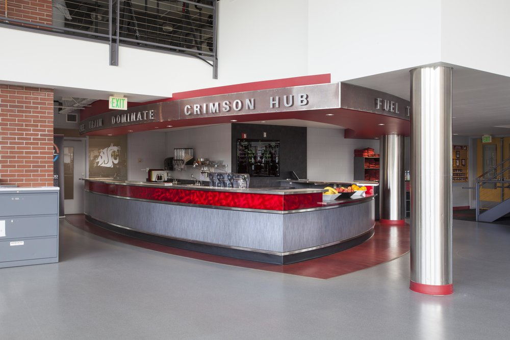 WSU Bohler Crimson Hub Snack Bar