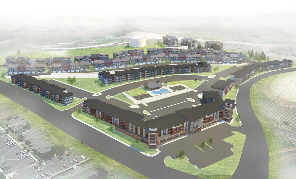 Washington State University Fairway Housing Development