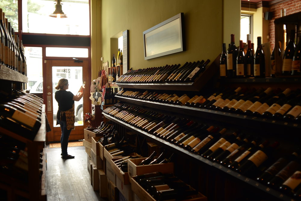 wine shop. - Purchase a bottle to enjoy at your table or take home. Become a member of the Wine Club and never run dry.