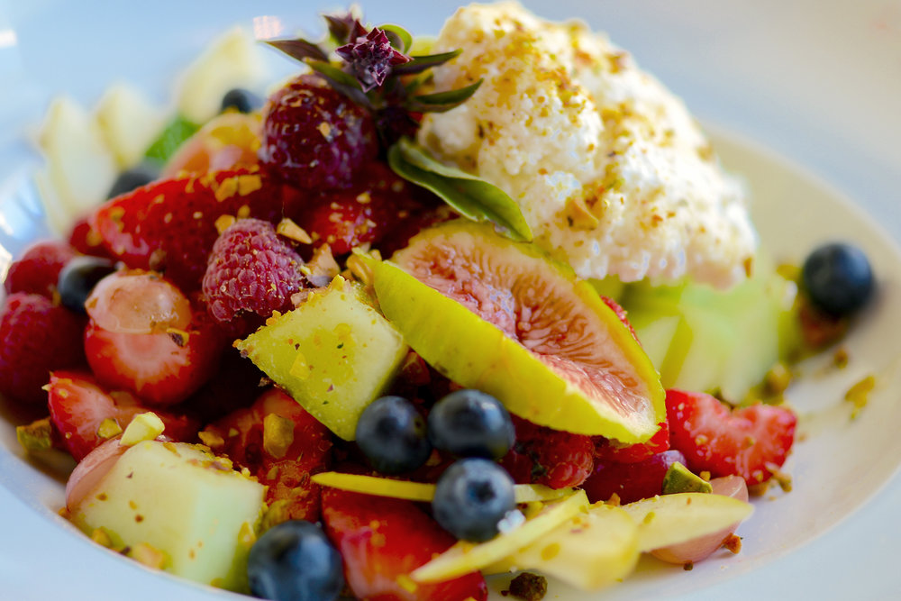 Ricotta and Fresh Fruit