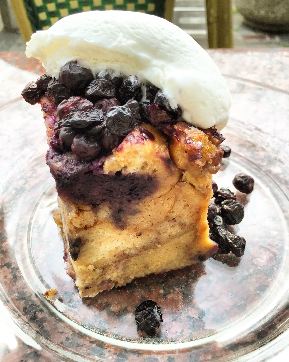 Who can pass up a beautiful bread pudding like this?! Not me. That's for sure.