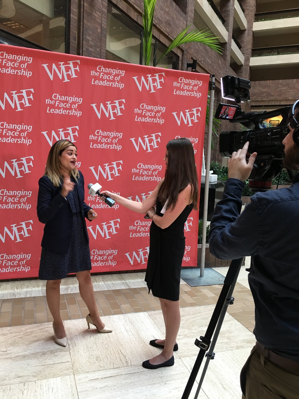 When I mean it, I mean it. If you followed along on Snapchat, MsDallasMaven, then you got a glimpse of my impassioned interview with Women's Foodservice Forum TV!