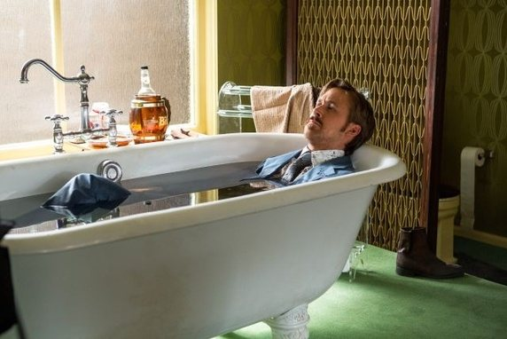 Oh look, Ryan Gosling, water included.