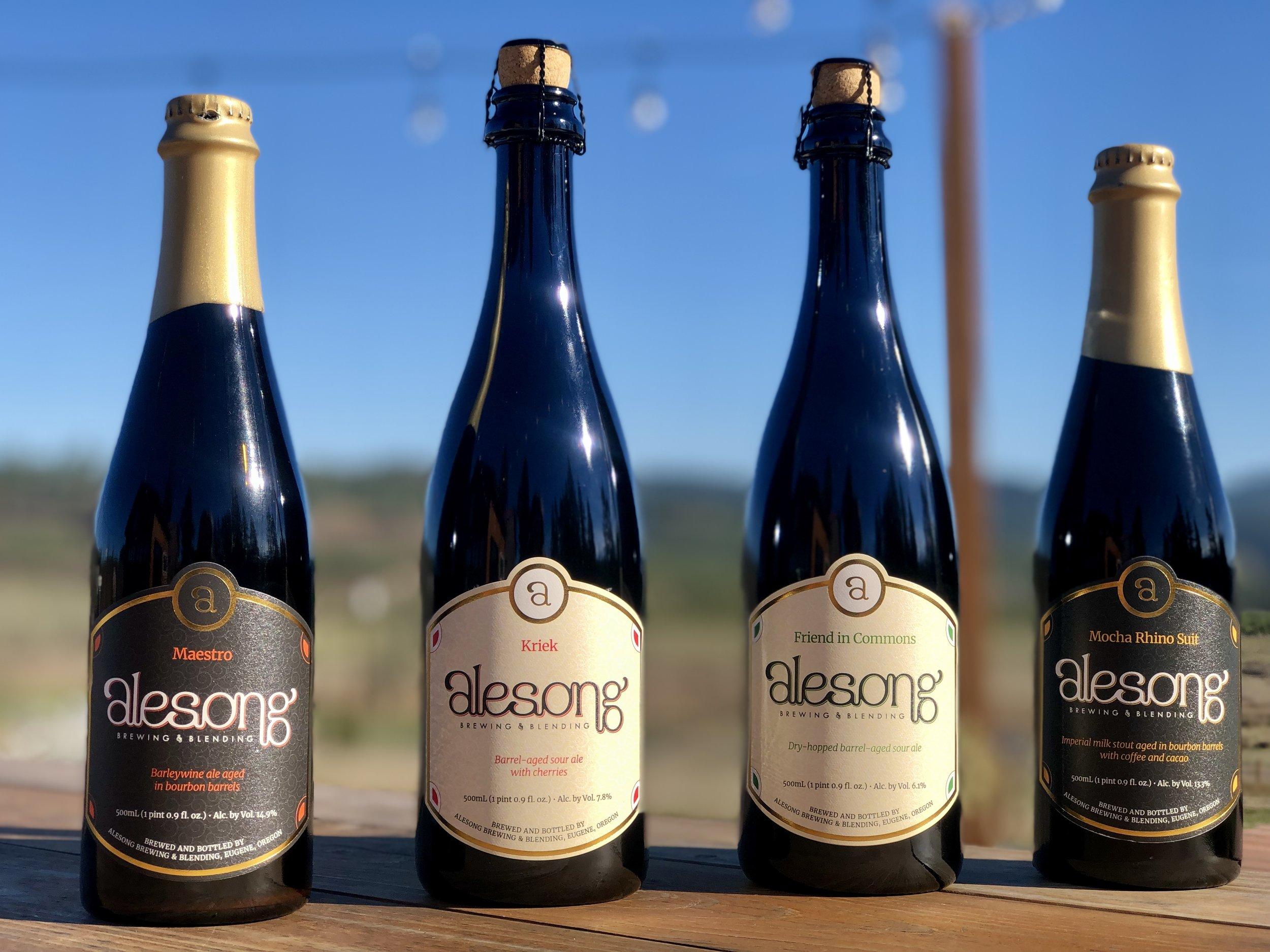Beers Alesong Brewing Blending