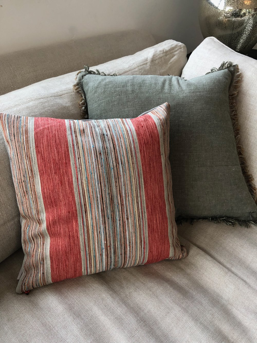 Fler Striped Pillow -