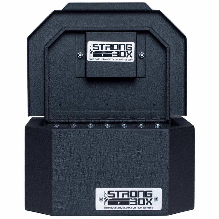 "SKU:  7125-7408  Outside Dimensions:  10""W x 8""D x 5""  Weight:  11 lbs.  Lock Type:  Single Medeco High Security  Cubic Storage:   400 Cubic Inches"