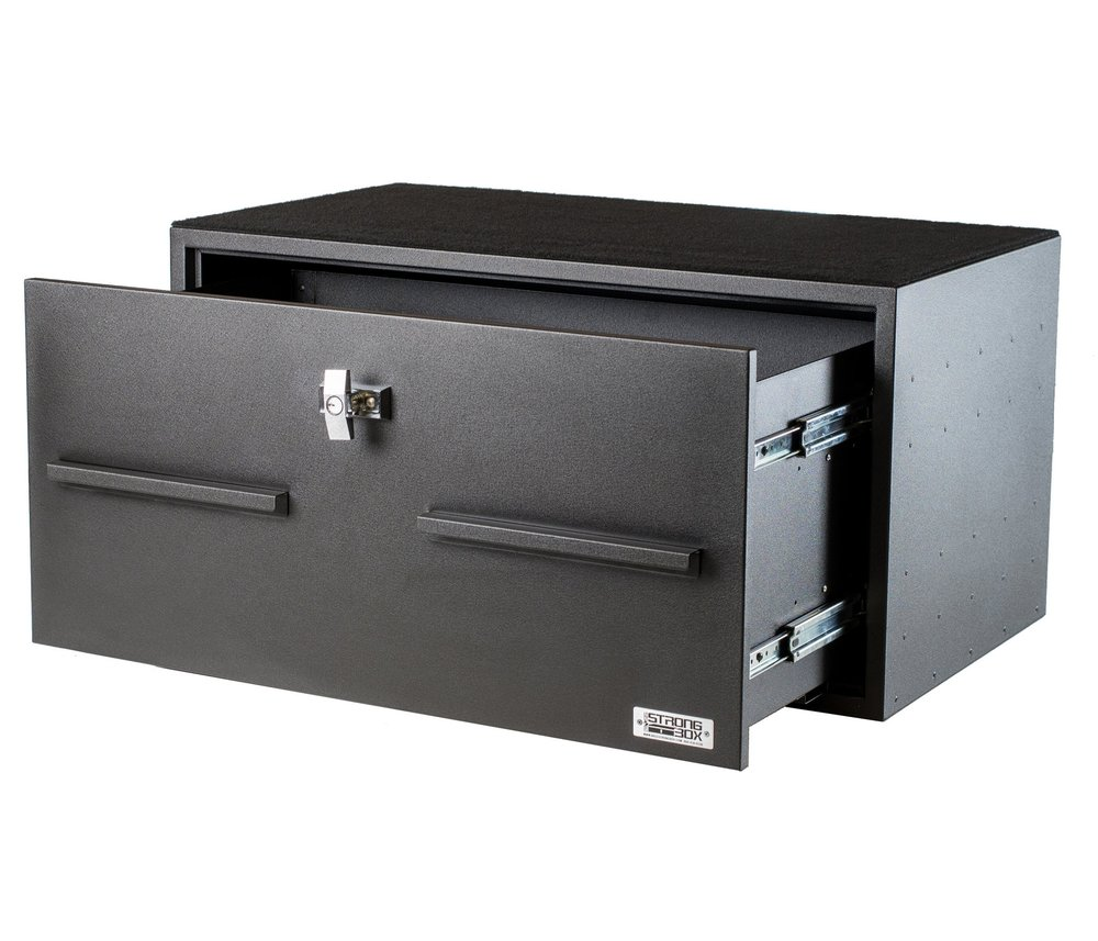 SKU 7126-7421CRS Size 40 W x ...  sc 1 st  BOSS StrongBox & Pull Out Drawers Storage | Vehicle Weapon Lockers | Vehicle Gun ...