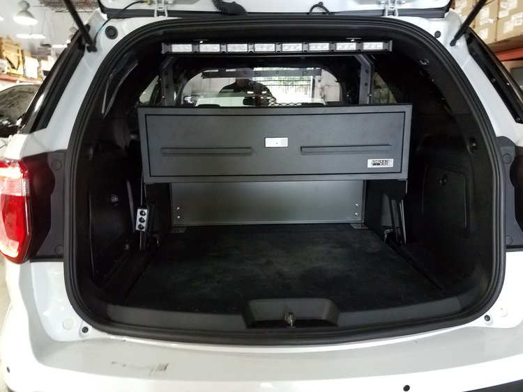 Ford explorer rear storage drawer on stand