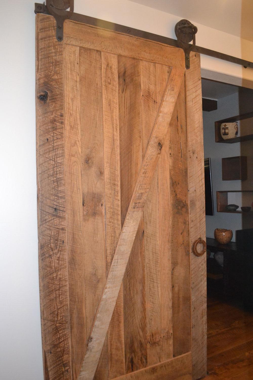 rolling wood barn door