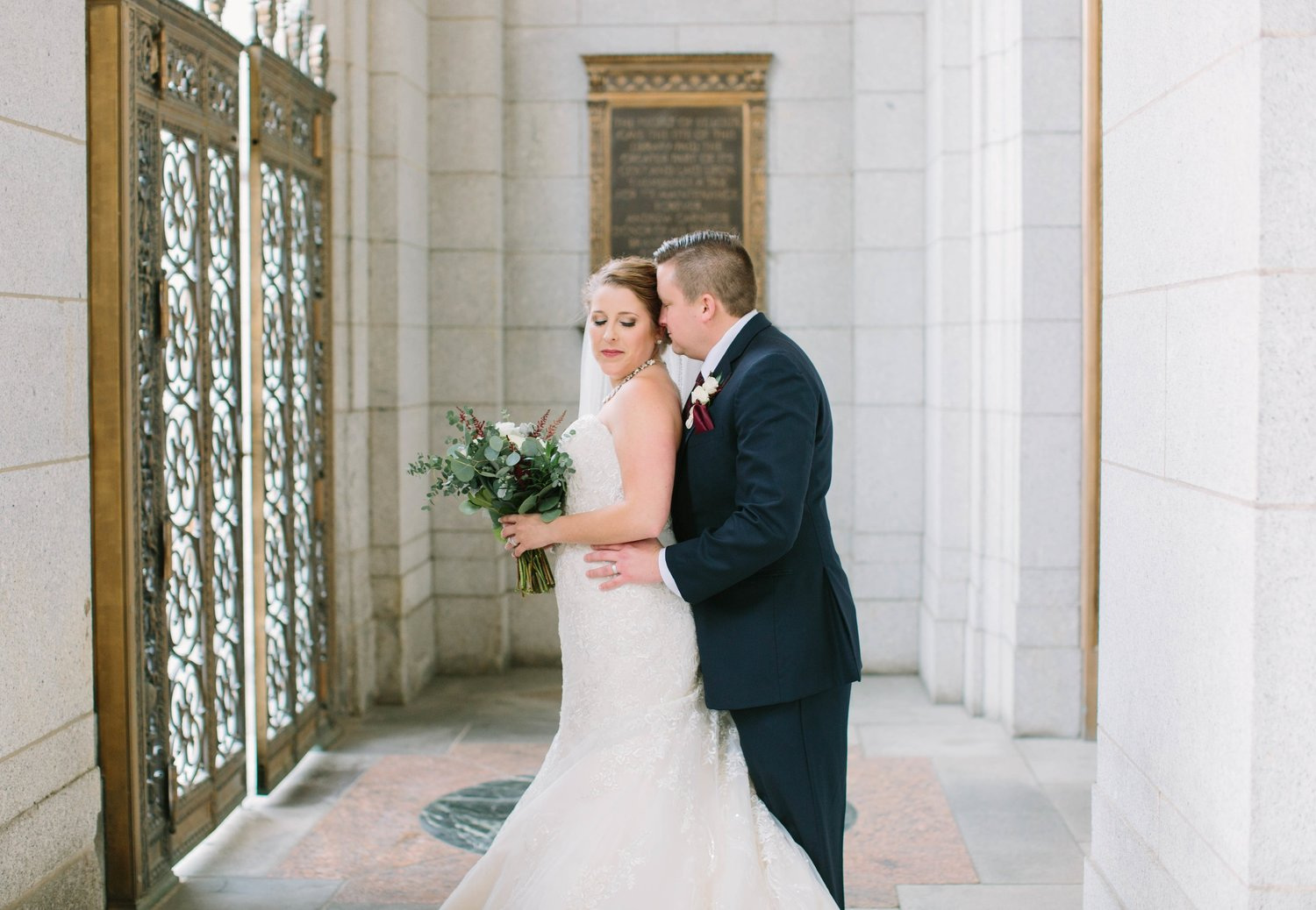 Veronica Young Photography-Drew + Abbey // St  Louis Wedding