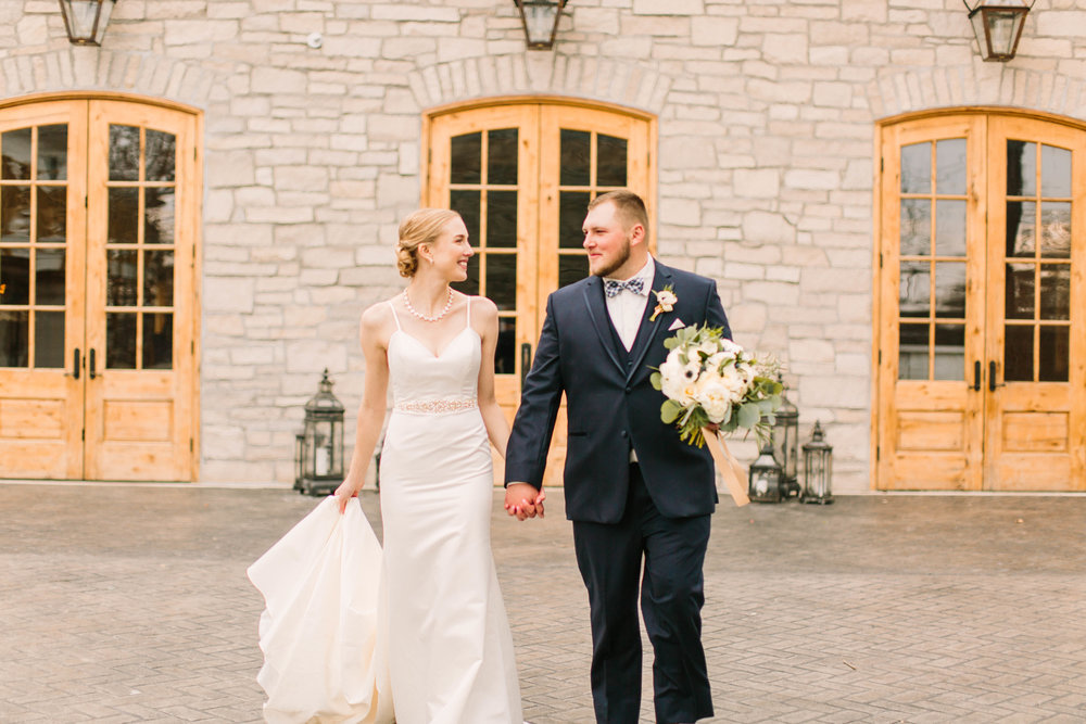 Veronica Young Photography, St. Louis Wedding Photographer, Stone House of St. Charles, winter wedding