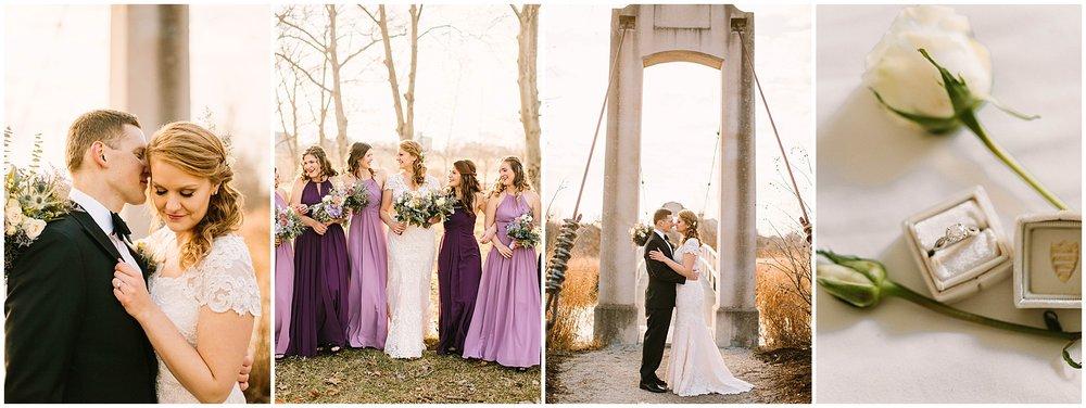 Veronica Young Photography, Winter wedding, St. Louis wedding photographer