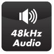 48kHz Audio