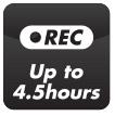 Recording 4 hours