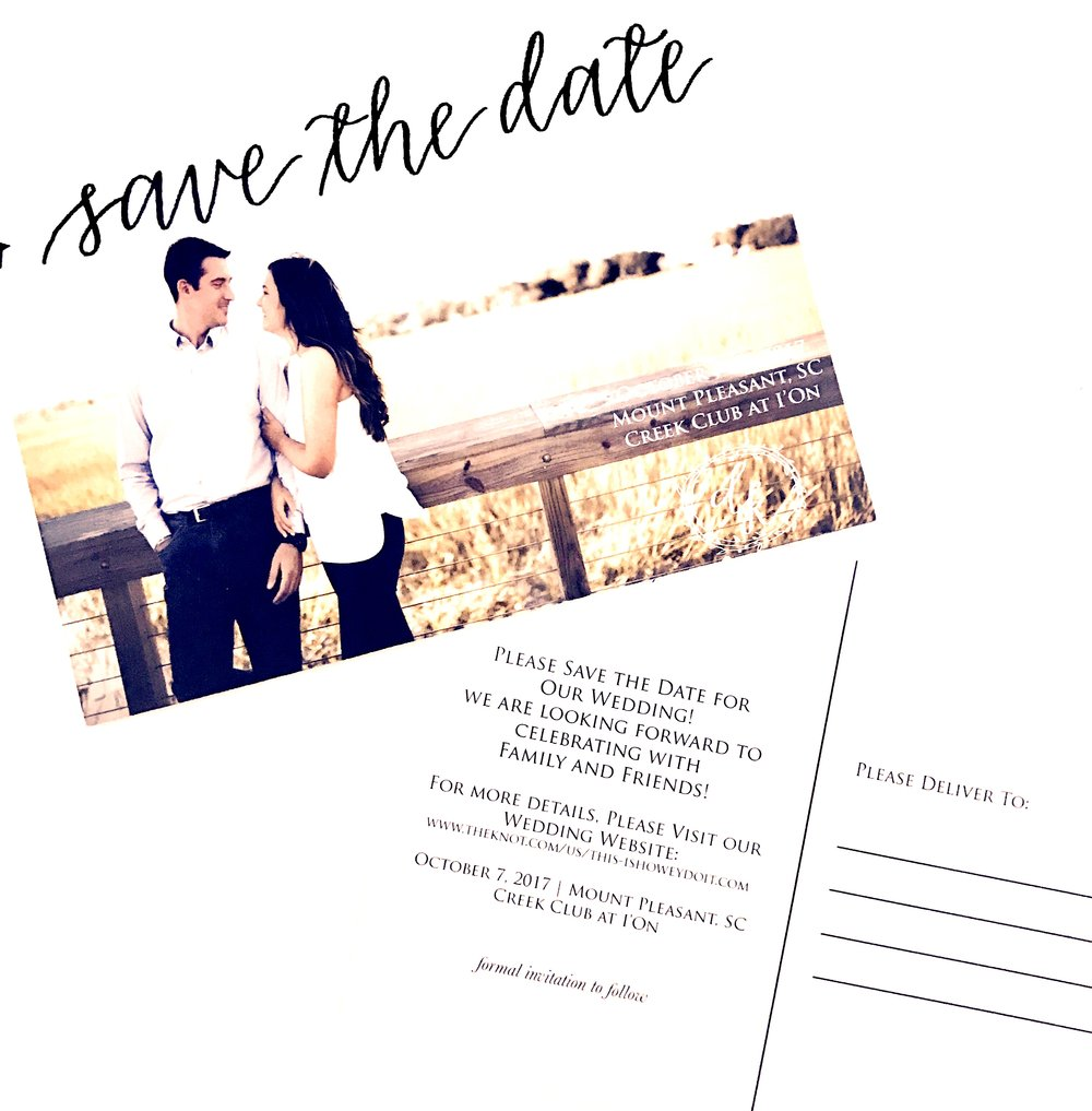 Save the Date by Priscilla Anne