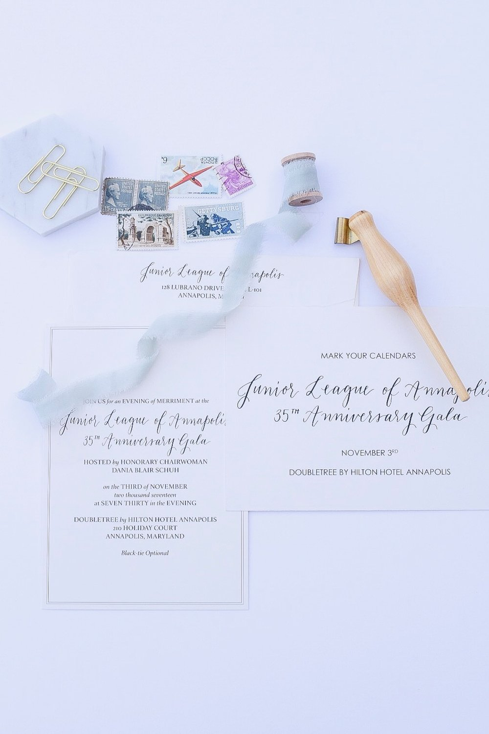 Gala Invitations by Priscilla Anne