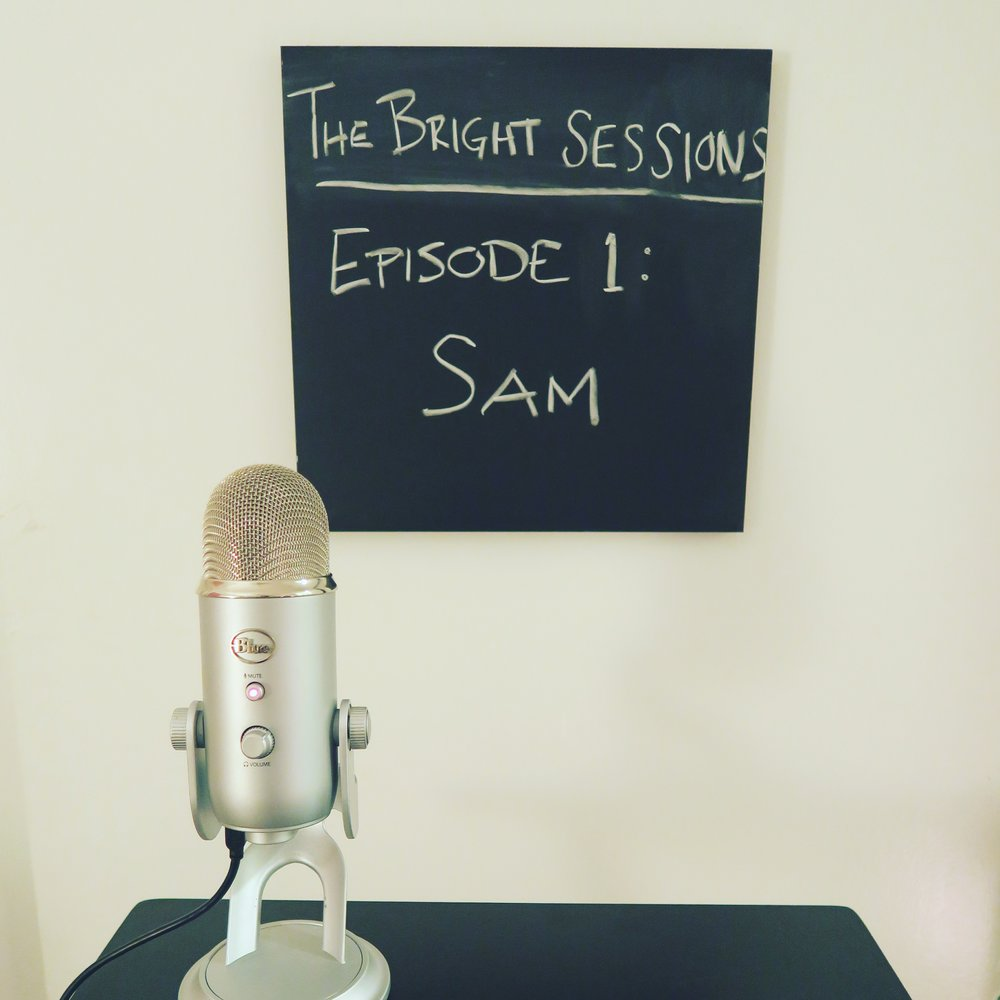 Our very first mic that we used - the Blue Yeti. We recorded episodes 1-9 on this mic.