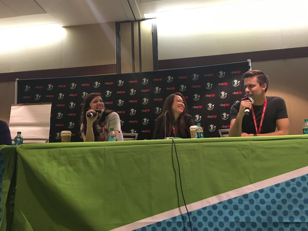 Our panel at ECCC!