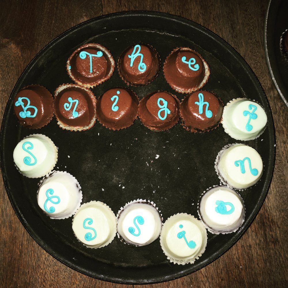 Cupcakes for our S3 launch party!