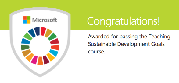 - The Microsoft SDG Course is the perfect way to get started with the SDGs.
