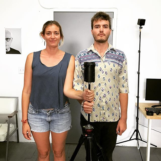 Brittany Neff and Ben Ross of @co.reality get American Gothic with their @z_camera S1. They're in NYC en route to Brazil to begin production of their VR documentary series RESISTANCE, about environmental activism. We're psyched to be joining forces on this project! More details soon. #resistance #vr #virtualreality #brazil #amazon #deforestation #activism #360video #zcamera #zcams1 #VRdocumentary #documentary #comingsoon