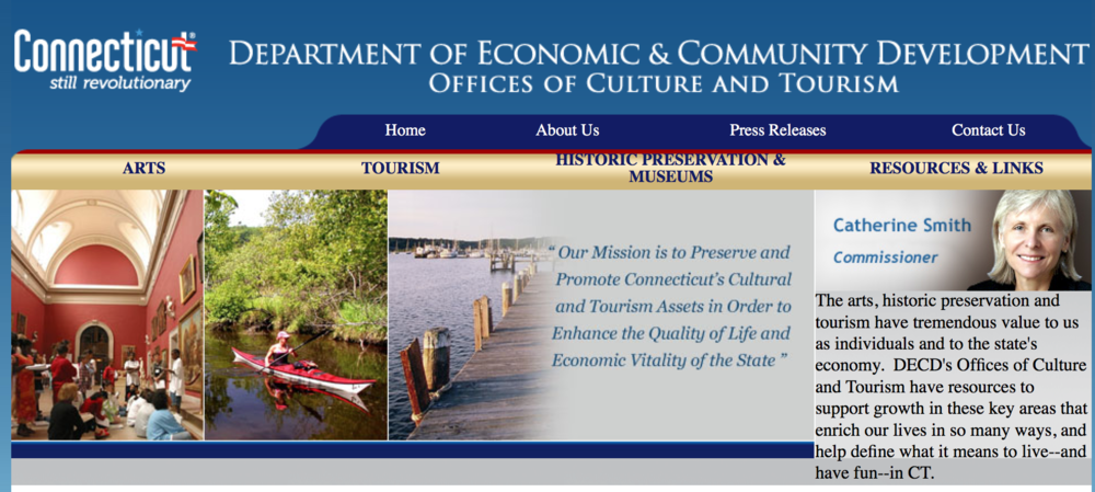 Connecticut commission on culture and tourism