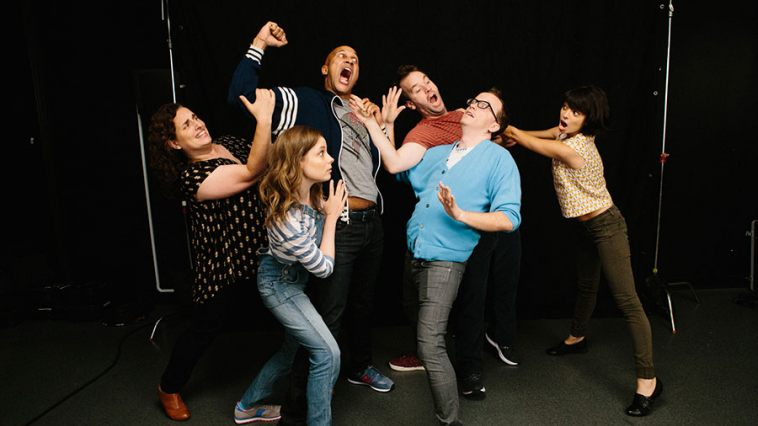 Sagher, Jacobs, Key, Birbiglia, Gethard, and Micucci