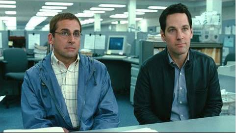 Barry (Steve Carell) with Tim (Paul Rudd)
